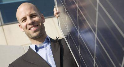 Solar salesperson