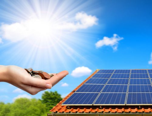 Instant savings with solar panels